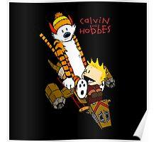 Calvin & Hobbes : Forever Young Poster