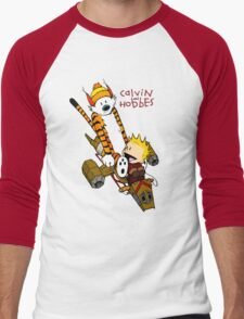 Calvin & Hobbes : Forever Young Men's Baseball ¾ T-Shirt