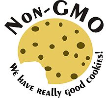 NonGMO- We have Really Good Cookies w/ a Bite Photographic Print