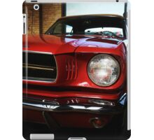 ford mustang classic car iPad Case/Skin