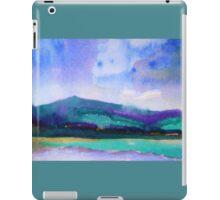 Abstract Landscape, cool II iPad Case/Skin