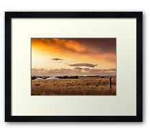 Australia Wheatbelt Country Framed Print
