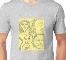 crystal ball hour glass Unisex T-Shirt
