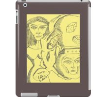 crystal ball hour glass iPad Case/Skin