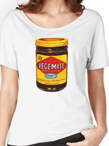 Vegemite Pattern Women's Relaxed Fit T-Shirt