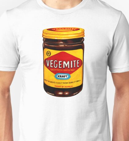 Vegemite Pattern Unisex T-Shirt
