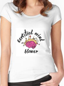 Certified Mind Blower Women's Fitted Scoop T-Shirt