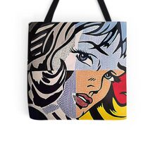 Lichtenstein's Girl Tote Bag