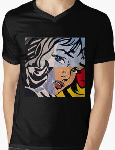Lichtenstein's Girl Mens V-Neck T-Shirt