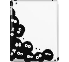 Soot Sprites coming out from Corner iPad Case/Skin