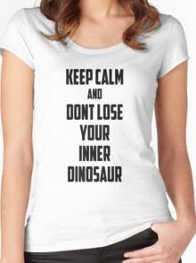 Keep Calm Women's Fitted Scoop T-Shirt