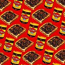 Vegemite and Toast Pattern by Kelly  Gilleran