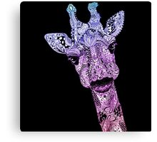 Colorfull Giraffe Canvas Print