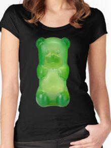 Gummy bear Women's Fitted Scoop T-Shirt