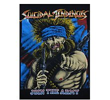 Suicidal Tendencies Join the Army Photographic Print