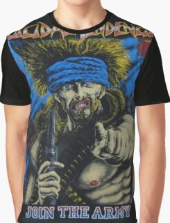 Suicidal Tendencies Join the Army Graphic T-Shirt