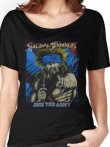 Suicidal Tendencies Join the Army Women's Relaxed Fit T-Shirt