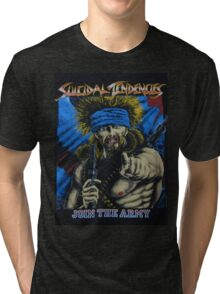 Suicidal Tendencies Join the Army Tri-blend T-Shirt