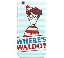 Where Is Waldo  iPhone Case/Skin