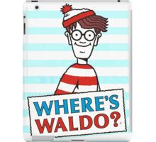 Where Is Waldo  iPad Case/Skin