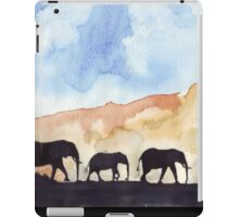 Silhouettes of Africa iPad Case/Skin