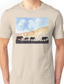 Silhouettes of Africa Unisex T-Shirt