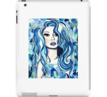 Blue Girl 2 iPad Case/Skin