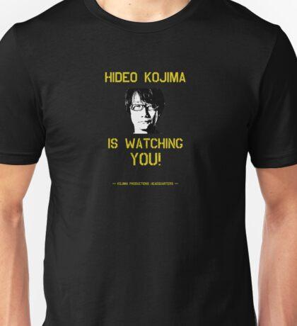 Kojima is Watching Unisex T-Shirt