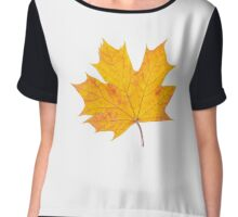 Maple leaf Chiffon Top