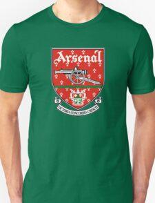 ARSENAL OLD LOGO CREST BADGE VINTAGE T-Shirt