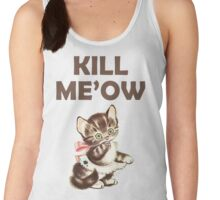 Kill Me Now Kitty Women's Tank Top