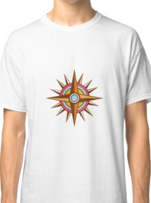 Vintage Compass Star Isolated Retro Classic T-Shirt