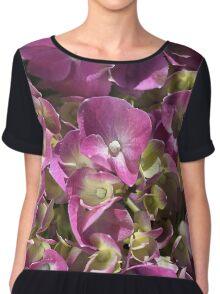 Hydrangea Summer Bloom Chiffon Top