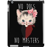 Anarcho Cat iPad Case/Skin