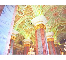 Russian Marble Church Ceiling Photographic Print