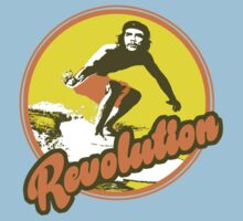 Surfer Che Revolution Kids Tee