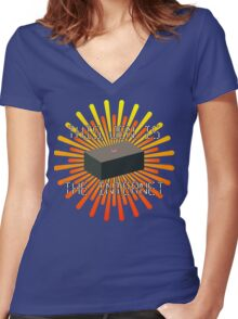 This, Jen, is... The Internet Women's Fitted V-Neck T-Shirt