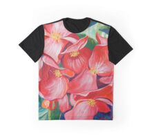 Wax Begonia Graphic T-Shirt