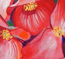 Wax Begonia Sticker