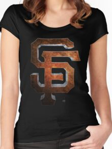 SF Giants MOS Women's Fitted Scoop T-Shirt