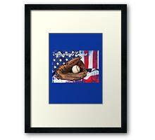 americas game baseball Framed Print
