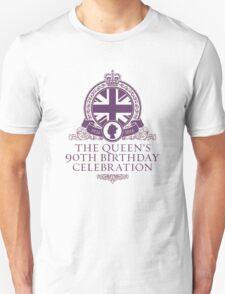 Queen's 90th Birthday #HappyBirthdayYourMajesty (T-shirt, Phone Case & more) Unisex T-Shirt