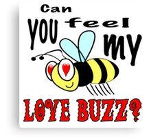 Love Buzz Canvas Print