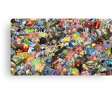 CS:GO Sticker Spam Canvas Print