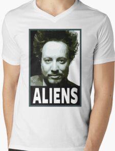 Aliens Mens V-Neck T-Shirt