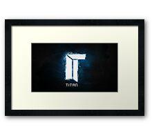Titan E-Sports Team Framed Print