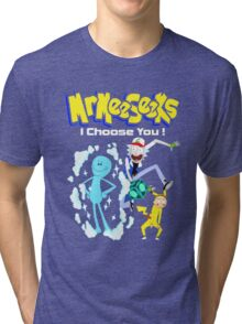 Mr Meeseeks Tri-blend T-Shirt