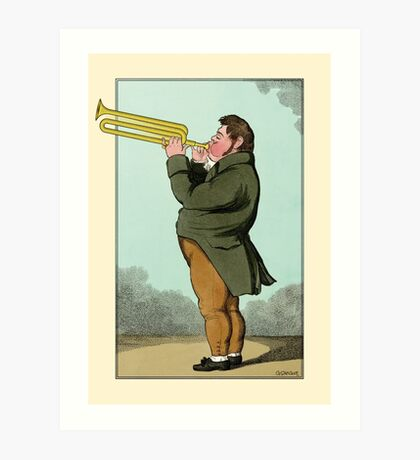 The Paradoxical Trumpeter Art Print
