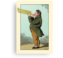The Paradoxical Trumpeter Canvas Print