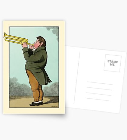 The Paradoxical Trumpeter Postcards